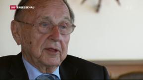 Video «Ehemaliger deutscher Aussenminister Genscher gestorben» abspielen
