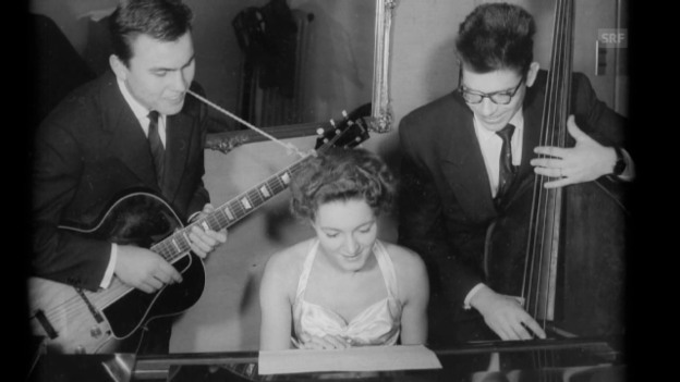 Video «Elsie Bianchi singt «I Remember Clifford» (1962)» abspielen