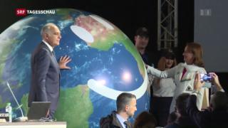 Video «Der Klimawandel trifft die Schweiz hart» abspielen