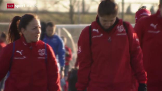 Video «Die Frauen-Nati vor dem Olympia-Qualifikations-Turnier» abspielen