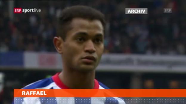 Video «Fussball: Raffael wechselt nach Gladbach» abspielen
