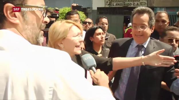Video «Gegenstimmen werden in Venezuela nicht mehr geduldet» abspielen