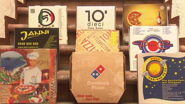 Video «Pizza-Kuriere im Test: Wer fein backt und schnell liefert» abspielen