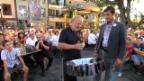 Video «Roman Kilchsperger und Peter Reber singen zusammen» abspielen