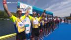 Video «Rudern: Weltcup Luzern auf dem Rotsee» abspielen