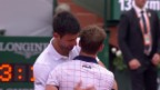 Video «Live-Highlights Djokovic - Schwartzman» abspielen