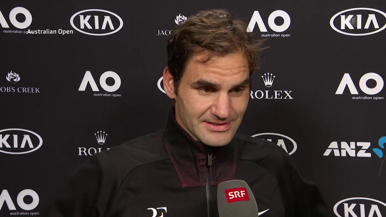 Federer: «Ich spürte, dass meine Chance kommen wird»