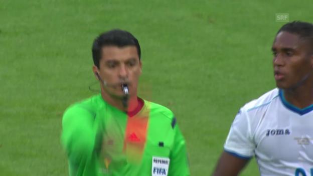 Video «FIFA WM 2014: Platzverweis für Wilson Palacios» abspielen