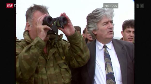 Video «40 Jahre Gefängnis für Karadzic» abspielen