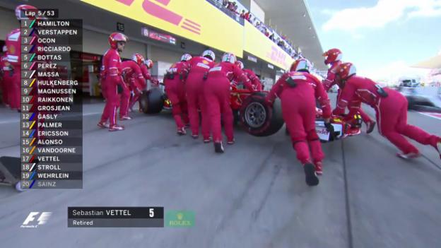 Video «Vettels dramatisches Out in Suzuka» abspielen