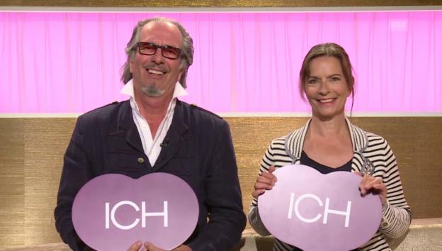 Video «Ich oder Du: Hans Schenker und Isabelle von Siebenthal» abspielen