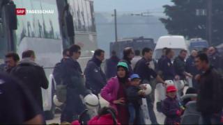 Video «Räumung des Flüchtlingslagers Idomeni» abspielen