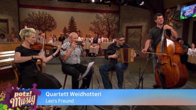 Video «Quartett Weidhotteri» abspielen