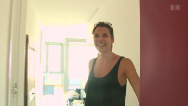 Video ««glüted & gfröget»: Zuhause bei Miriam Jäger» abspielen