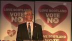 Video «Alistair Darling zeigt Verständnis für die Enttäuschung» abspielen