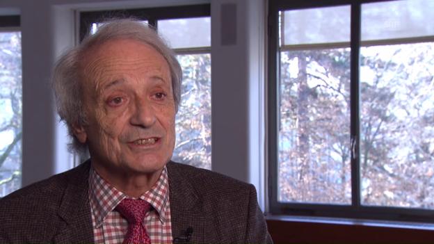 Video «Interview mit Krebsspezialist Franco Cavalli» abspielen