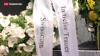 Video «Beisetzung Carsten Schloters in Freiburg» abspielen
