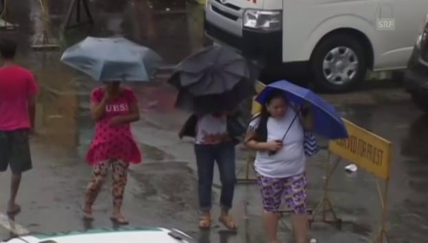 Video ««Koppu» wirbelt auf den Philippinen» abspielen