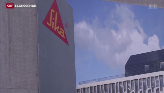 Video «Eklat bei Baustoffriesen Sika» abspielen