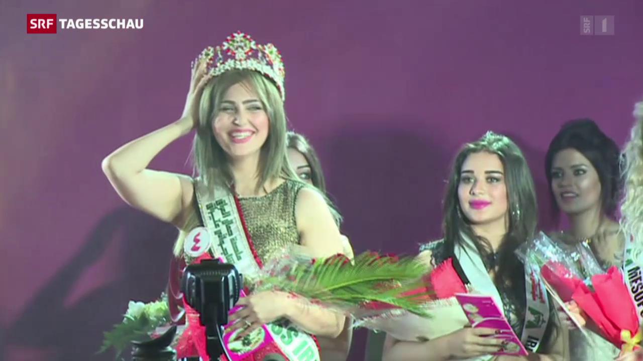 Erste Miss Irak seit mehr als 40 Jahren