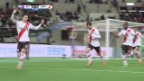 Video «Fussball: Klub-WM, Halbfinal, Highlights River Plate - Sanfrecce Hiroshima (Quelle: SNTV)» abspielen