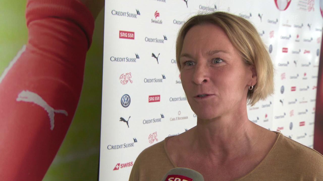 Voss-Tecklenburg: «Wollen auf jeden Fall ins Viertelfinal»