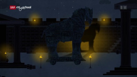 Odyssee animiert: Die Schlacht um Troja (1/14)