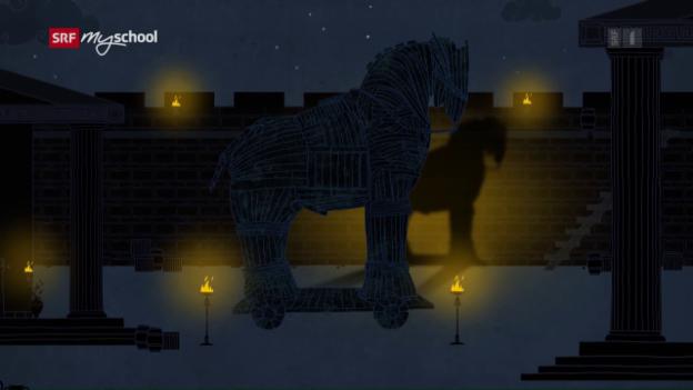 Video «Odyssee animiert: Die Schlacht um Troja (1/14)» abspielen