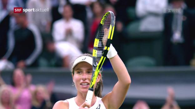 Video «Konta schreibt britische Tennis-Geschichte» abspielen