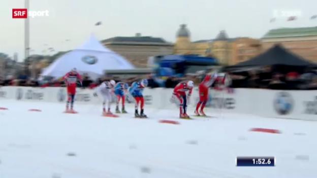 Video «Langlauf: Weltcup-Sprint in Schweden» abspielen