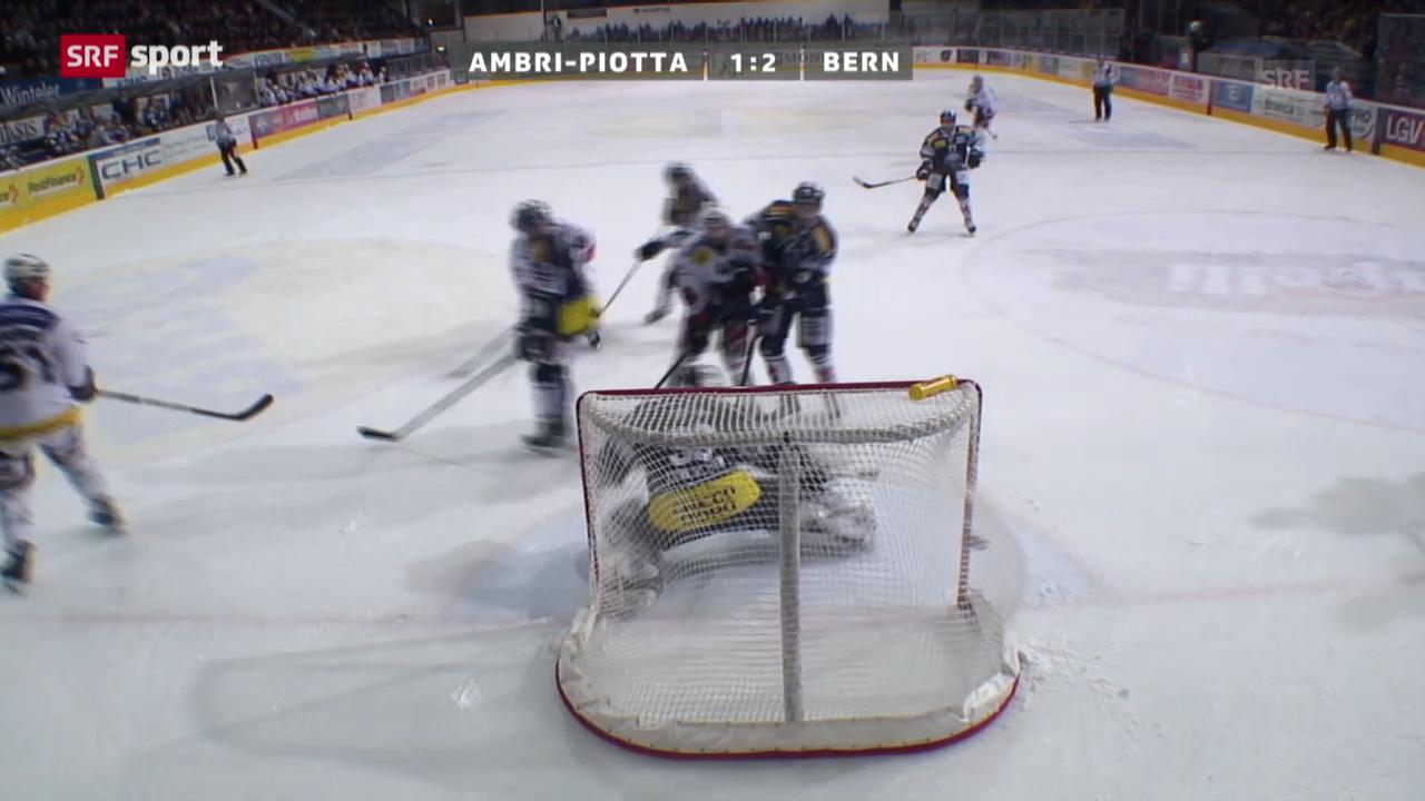 Eishockey: Ambri - Bern