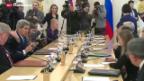 Video «US-Aussenminister Kerry sucht Zusammenarbeit mit Moskau» abspielen