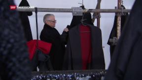 Video «Mit Christa de Carouge wird Mode zur Kunst» abspielen