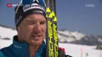Video «Dario Cologna zurück im Schnee» abspielen