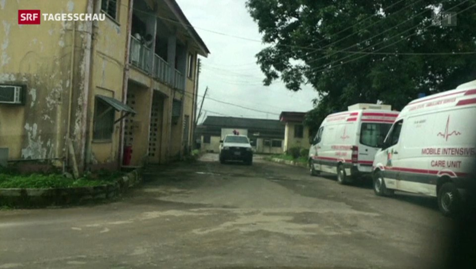 Ebola: Notstand in Nigeria