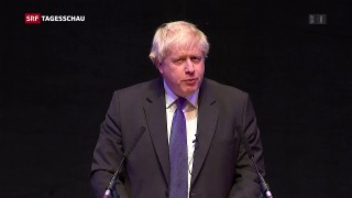 Video «Jubel für Johnson beim Parteitag der Konservativen» abspielen