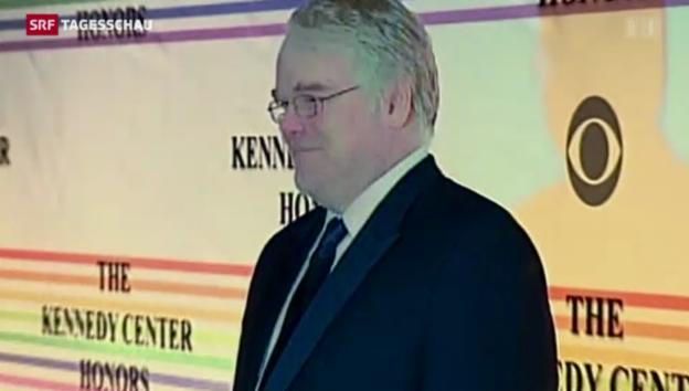 Video «Oscar-Preisträger Hoffman ist tot» abspielen