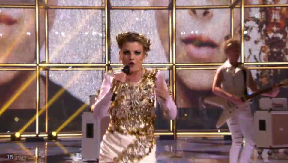 Italien – Emma Marrone mit «La Mia Città»