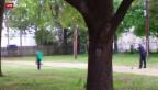 Video «US-Polizist erschiesst Schwarzen» abspielen