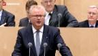 Video «Deutscher Bundesrat lehnt Steuerabkommen ab» abspielen