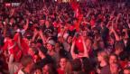 Video «Glücksgefühle auf der Zürcher Fanmeile» abspielen