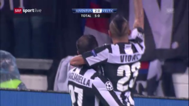 Video «CL: Juventus Turin - Celtic Glasgow» abspielen