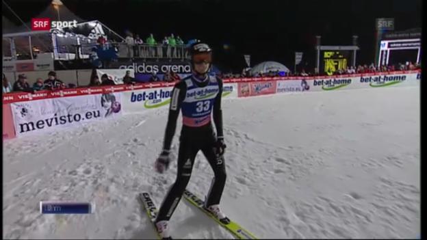 Video «Skispringen: Qualifikation in Harrachov («sportaktuell»)» abspielen