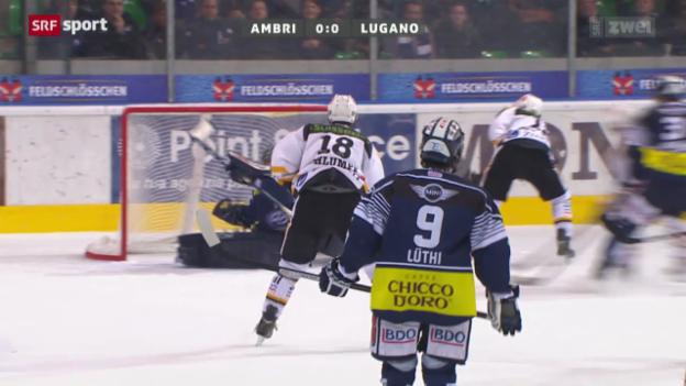 Video «NLA: Ambri - Lugano» abspielen