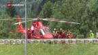 Video «Schwerer Unfall vor dem Gotthard» abspielen