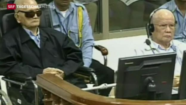 Video «Verurteilung der ehemaligen Rote-Khmer-Funktionäre» abspielen