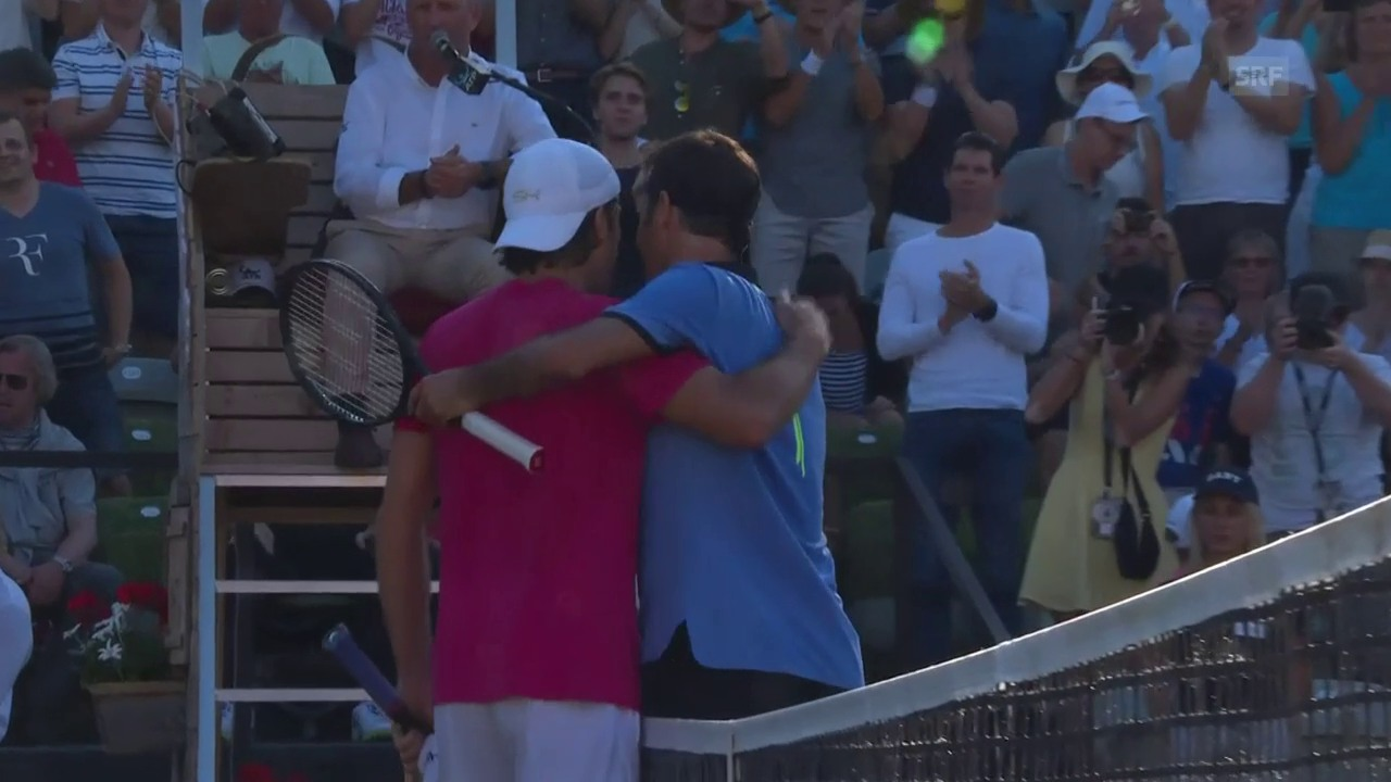 Federer scheitert in Stuttgart an Haas