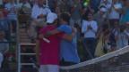 Video «Federer scheitert in Stuttgart an Haas» abspielen