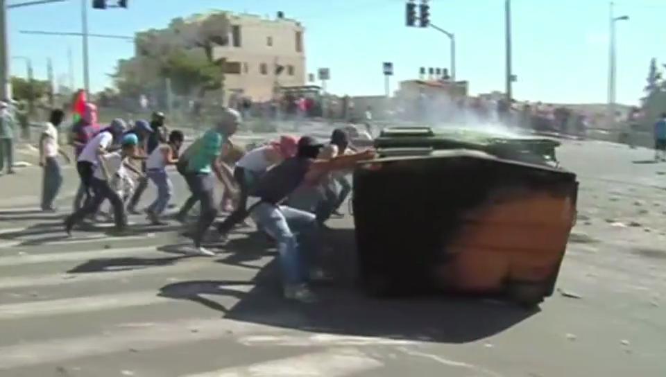 Krawalle in Jerusalem