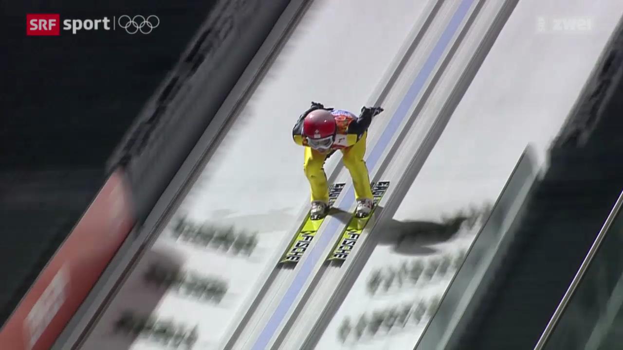 Skispringen: Qualifikation auf der Grossschanze